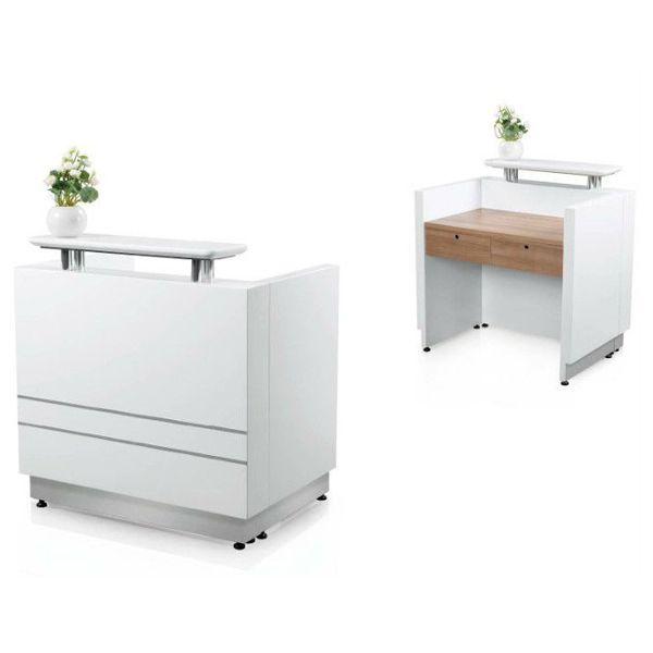 New Design Beautiful Modern Office Furniture India Reception Used Desk Salon