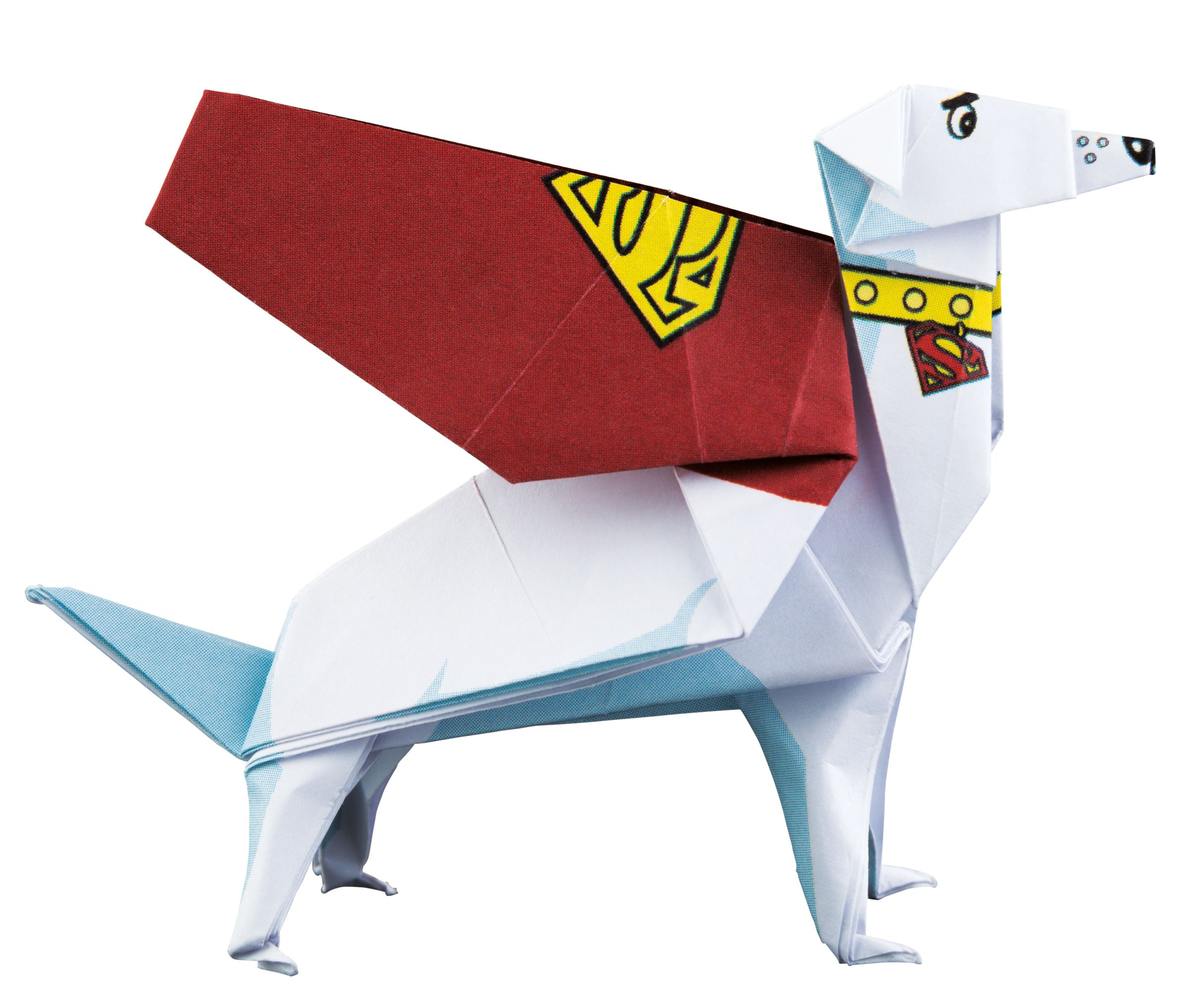It S The Best Super Dog Around Learn How To Fold Krypto In Dc Super Heroes Origami Batmanday Dc Superheroes Superhero Origami