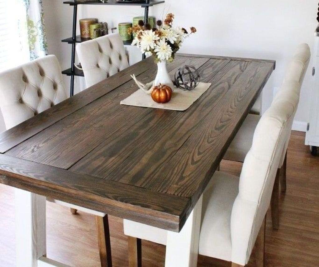 Marvelous Rustic Dining Room Table Decor Ideas 27 Diy
