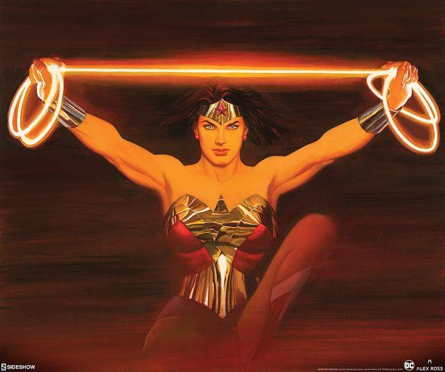 The Geeky Nerfherder: 'Wonder Woman' print by Alex Ross throug...