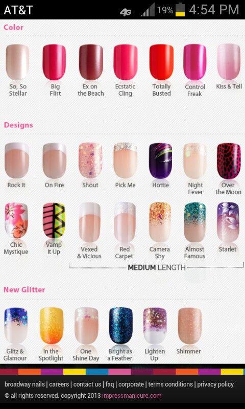 Impress nail designs nails 3 pinterest impress nails impress nail designs prinsesfo Image collections