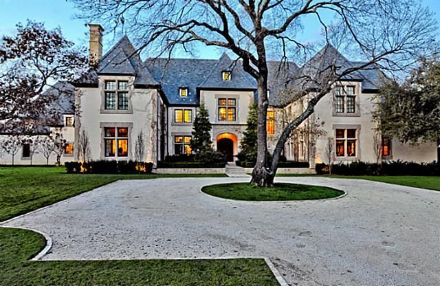 A French chateau with classic architectural elements; 11,000 sq. ft. for 8.5 million dollars...