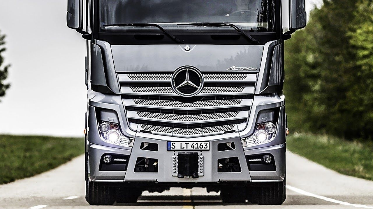 2019 Mercedes Benz Actros The Most Hi Tech Truck Ever