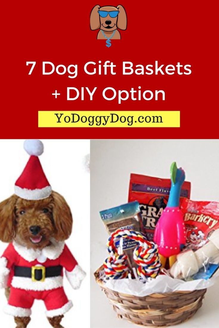 dog gift baskets, dog gifts for christmas, christmas dog gift ideas ...