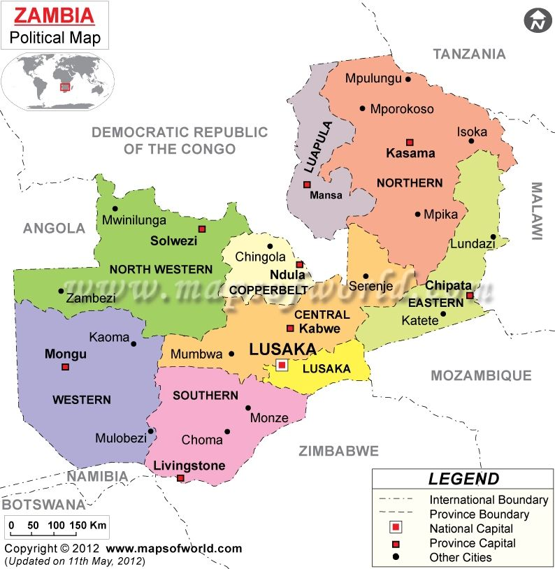 Zambias provinces 2012 Places Ive Been Pinterest Africa