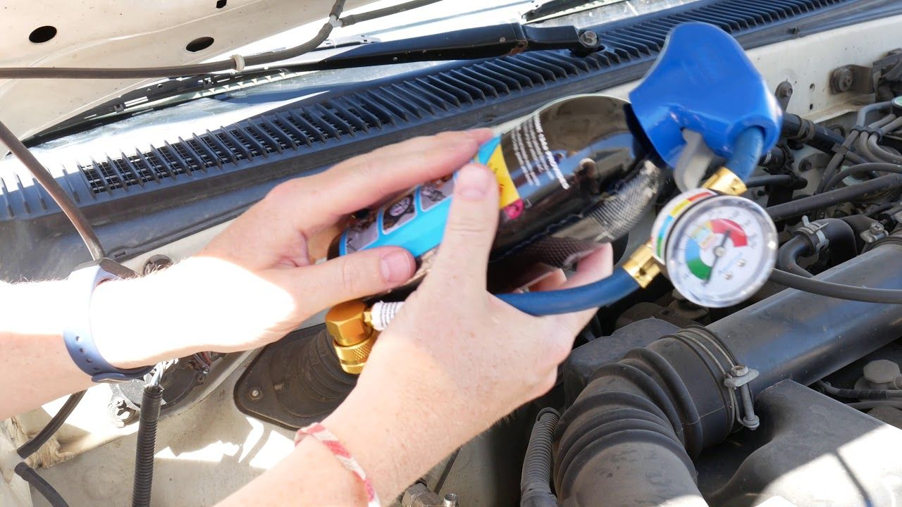 Recharge Your Car's Air Conditioning (A/C) in 5 Minutes