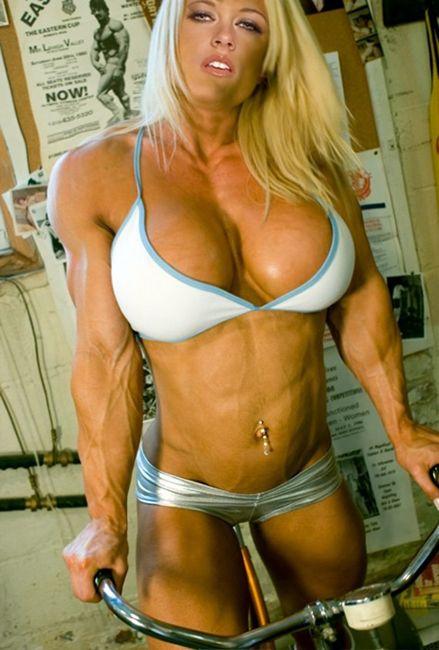 bodybuilder boobs