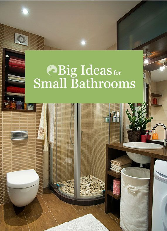 Small bathroom design ideas and tips for making your space look and