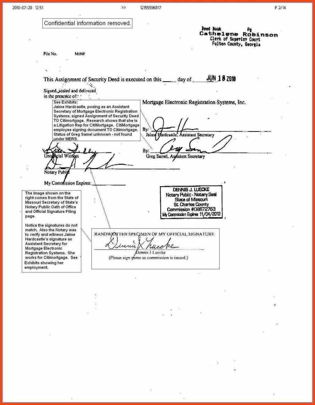 Notary Form Template Sop Format Exle News To Go 3 Pinterest