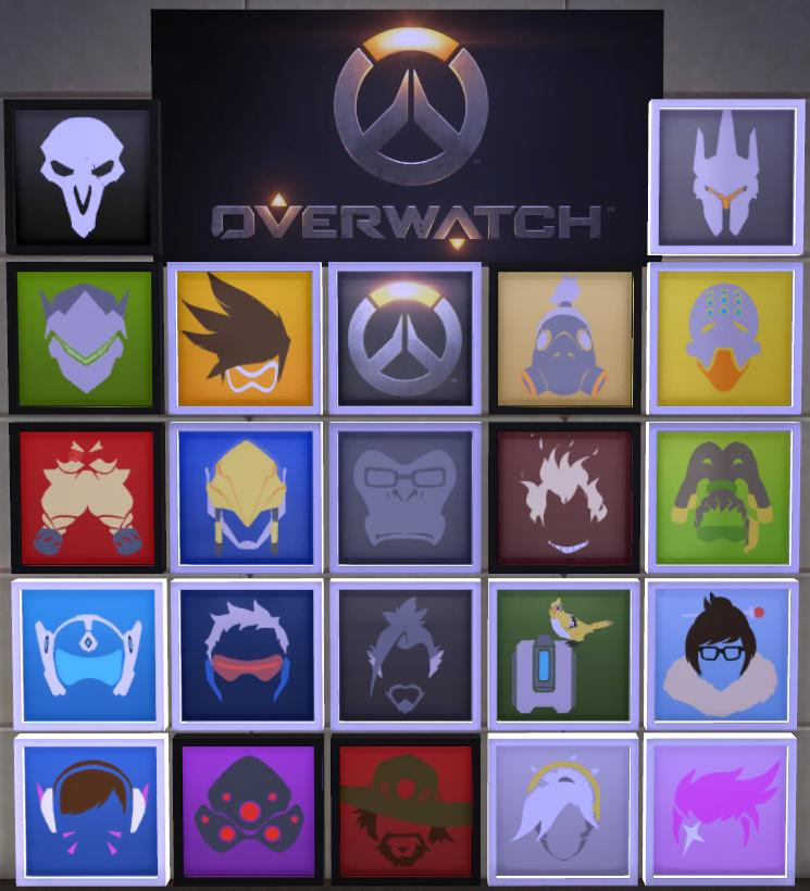 Lana Cc Finds Sevsims Overwatch Hero Icon Bundle All 21 Overwatch Sims 4 Mods Overwatch Widowmaker