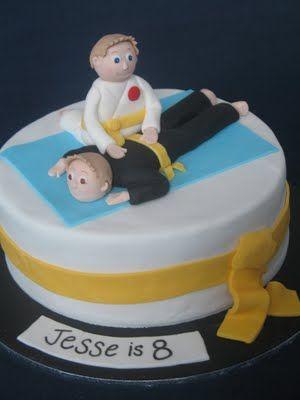 karate kids cake Unique Kids Birthday Cakes Pinterest Karate