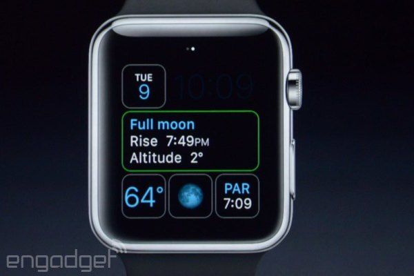 Apple Watch Faces Moon Calendar Apple watch faces