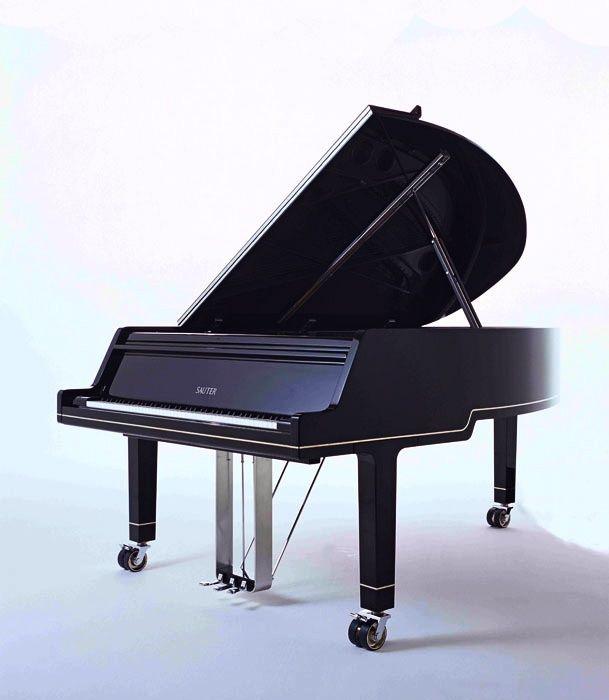 Sauter Ambiente Grand Piano This Unique Chrome Will Transform A Contemporary Interior Into