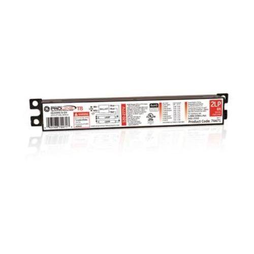 Ge Lighting 74471 Ge259mvndiy 120277volt Multivolt Proline Electronic Fluorescent T8 Instant Start Ballast 2 Or 1 F96t8 Lamps Ge Lighting Ballast Fluorescent