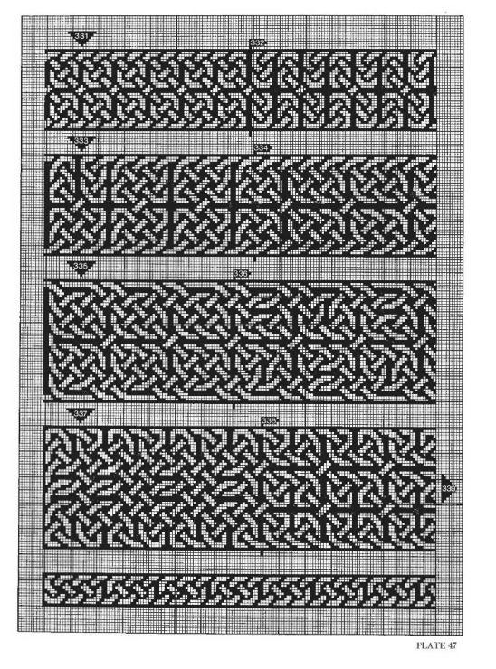 Gallery.ru / Фото #54 - Celtic Charted Designs - thabiti   Крючком ...