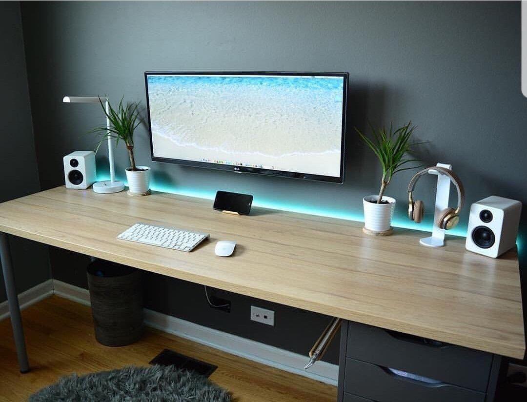 Diy Desk Ideas Diy Of Corner Computer Small And Office Desk Home Office Setup Computer Desk Design Diy Computer Desk