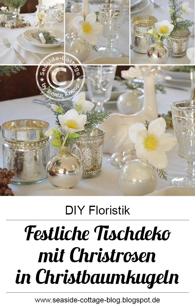 f r den heiligen abend festliche tischdeko mit christrosen deutsche diy blogger winter. Black Bedroom Furniture Sets. Home Design Ideas