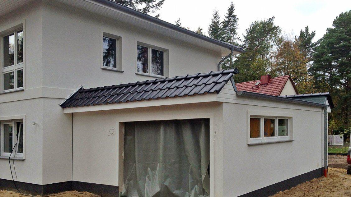 Hausreferenz Villa Lugana Stadtvillen Michendorf Ot Wilelmshorst Garage Dach Haus Haus Bauen