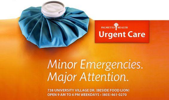 Palmetto Health Care Urgent Care billboard ad   Design ...