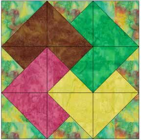 Quilting Pattern Card Trick Block : Card Trick. Very detailed instructions. card trick quilt Pinterest More Card tricks ideas