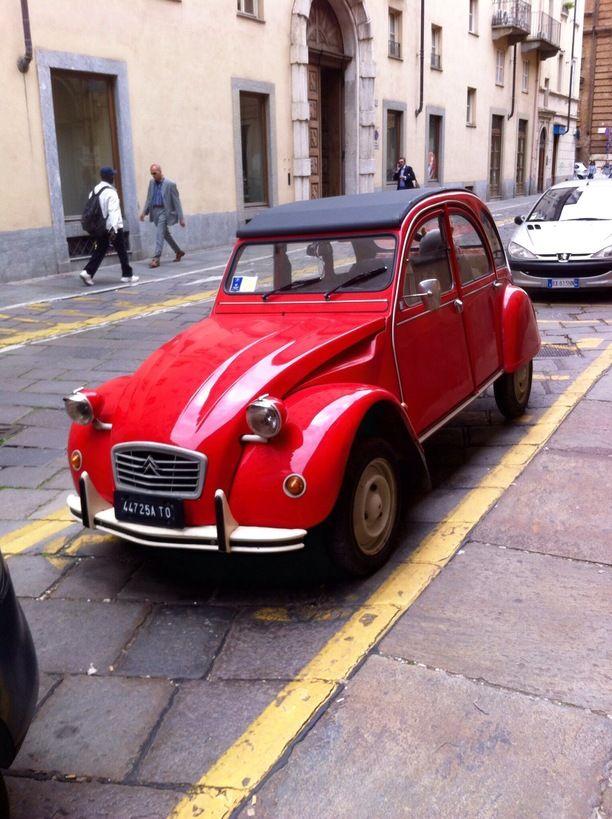Torino Italy Turin Italy By Michael Lombardi Citroen Car Classic Cars Vintage Citroen 2cv