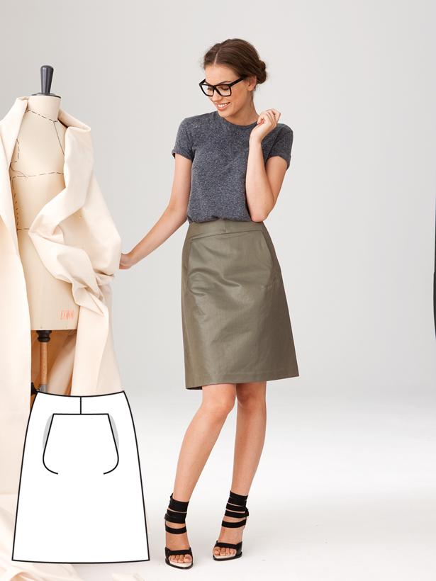 Modern Minimalist: 11 New Women\'s Sewing Patterns | Bekleidung ...