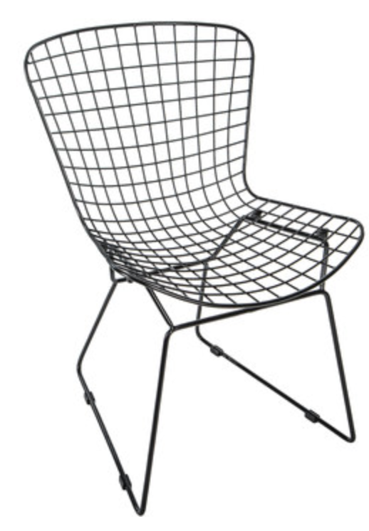 Prime Black Modern Wire Chair In 2019 Wire Chair Retro Home Squirreltailoven Fun Painted Chair Ideas Images Squirreltailovenorg