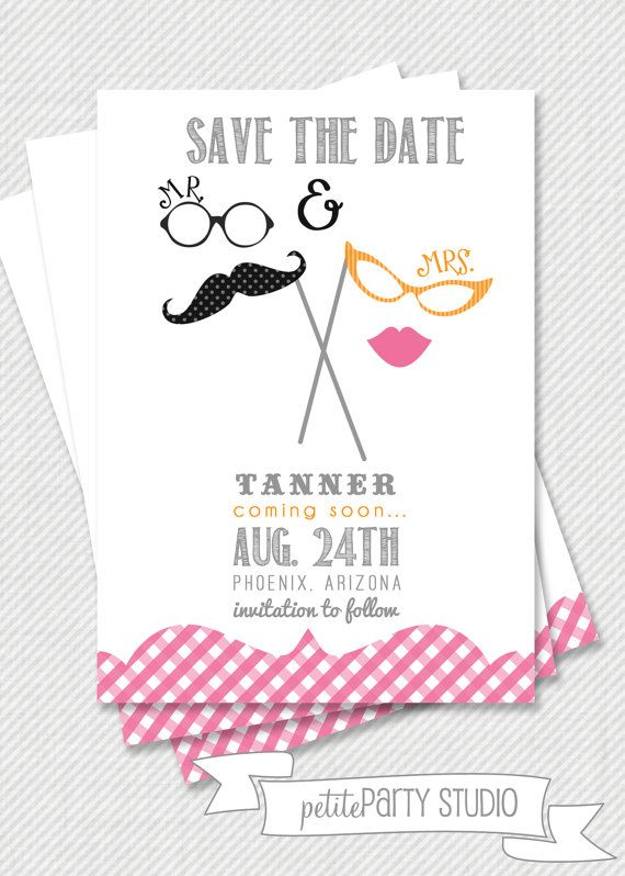 Printable Party Invitation Mustache And Lips Invitation Or Save