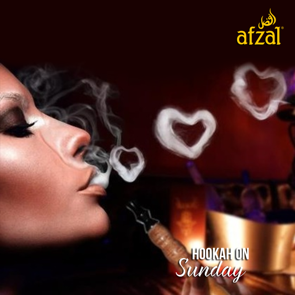 Sunday Special Blow A Heart Shaped Smoke Ring For Your Beloved