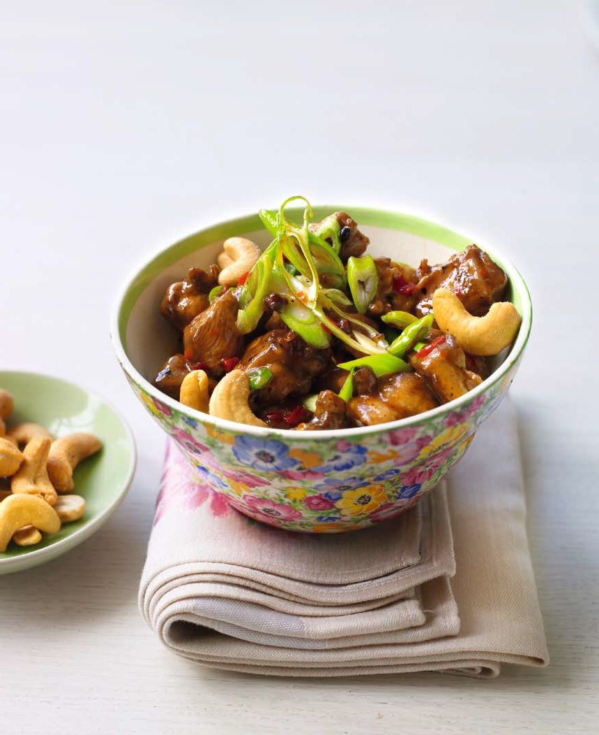 Sappige Chilikip Met Cashewnoten Van Auteur Ching He Huang Dit Recept Komt Uit Ching S Snelle Chinese Keuken Chinese Keuken Recepten Voor Ontbijt Lekker