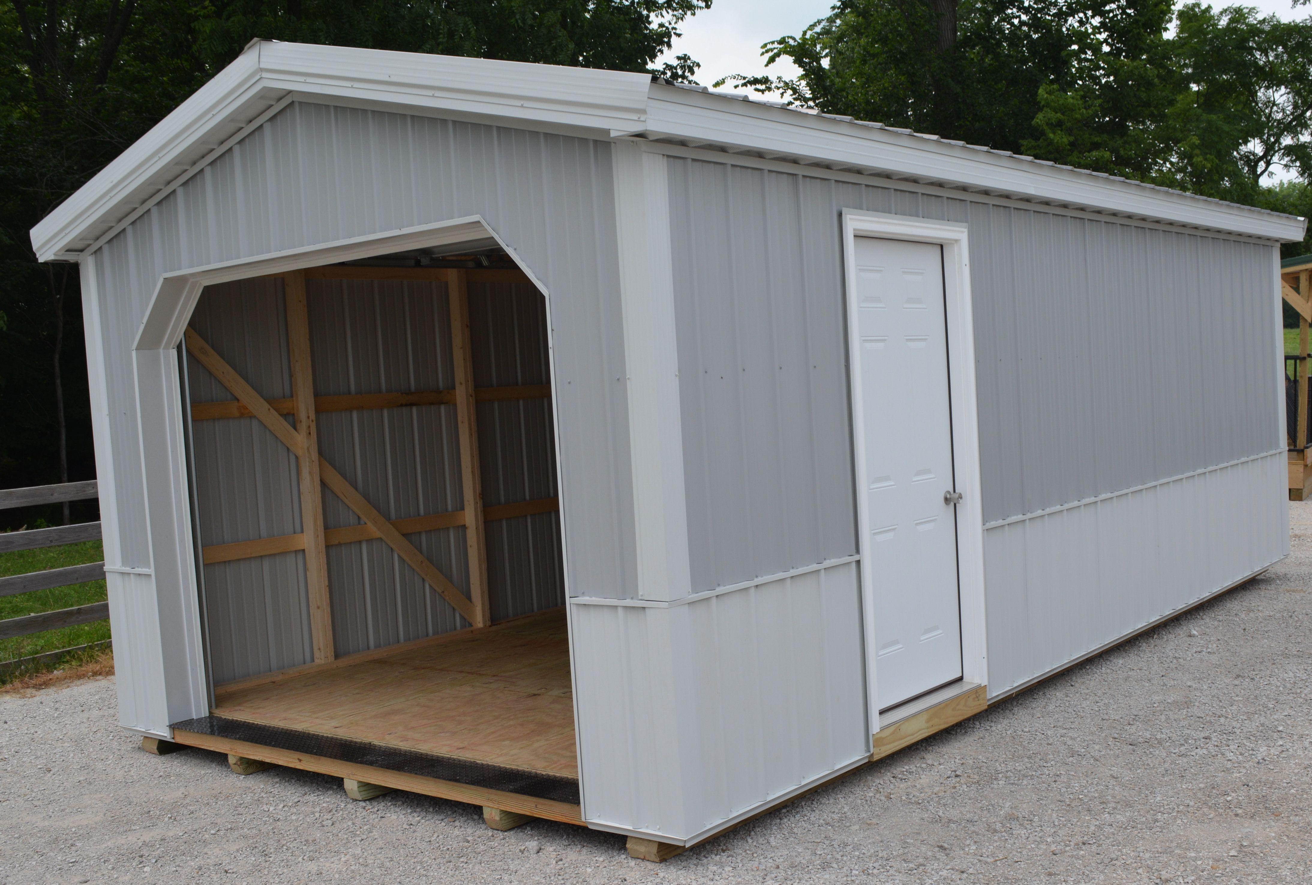 Deluxe Metal Garages Metal garages, Garages, Portable