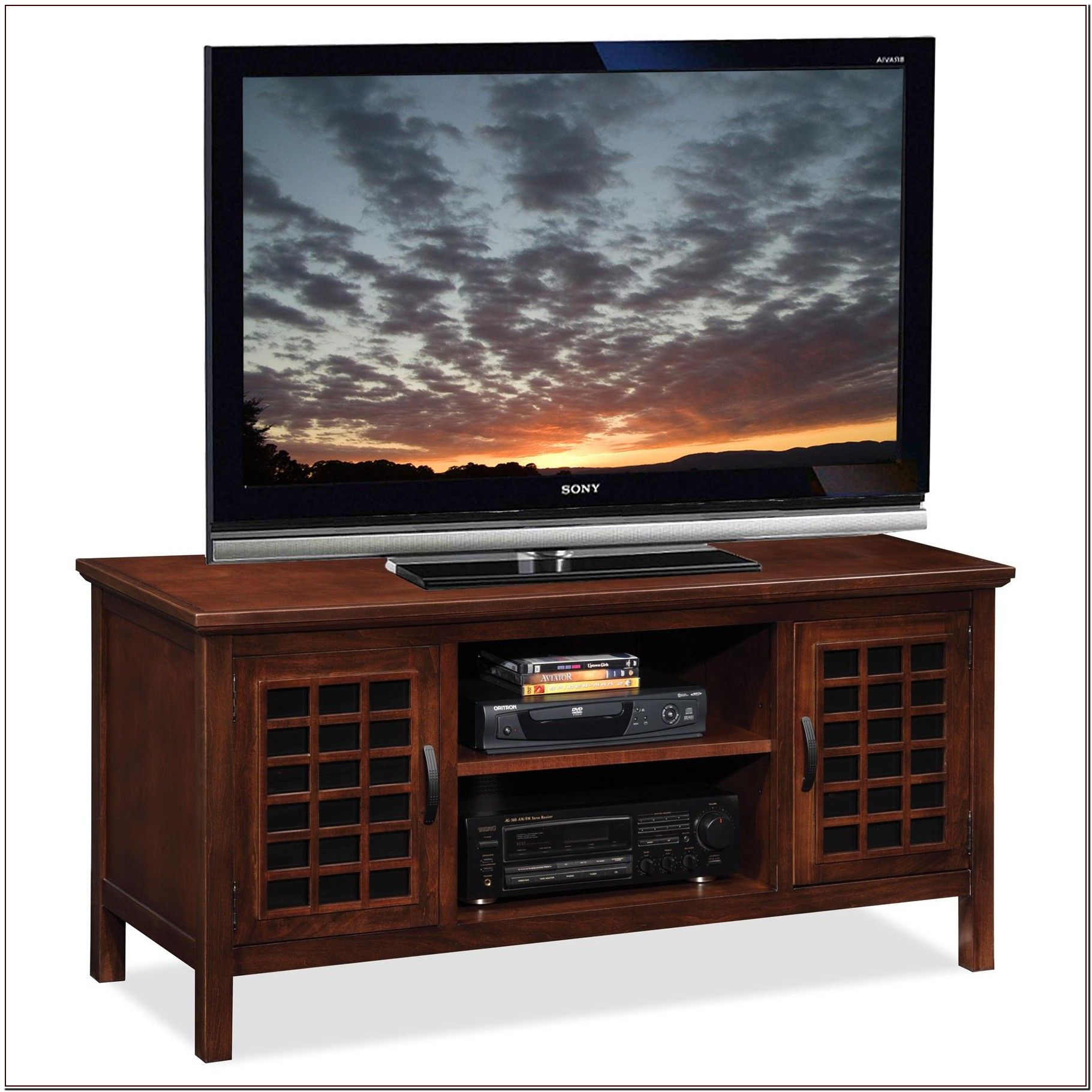 45 Reference Of Black Tv Stand Cheap Tv Stand With Glass Doors Tv Stand Wood Dark Wood Tv Stand
