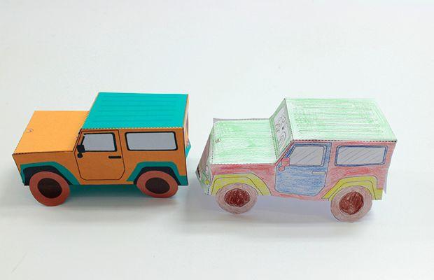 Auto Basteln Basteln Auto Basteln Und Basteln Mit Papier