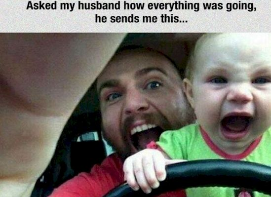Funny Memes For Dads : 14 reasons why dads shouldn't be left with kids alone dads road