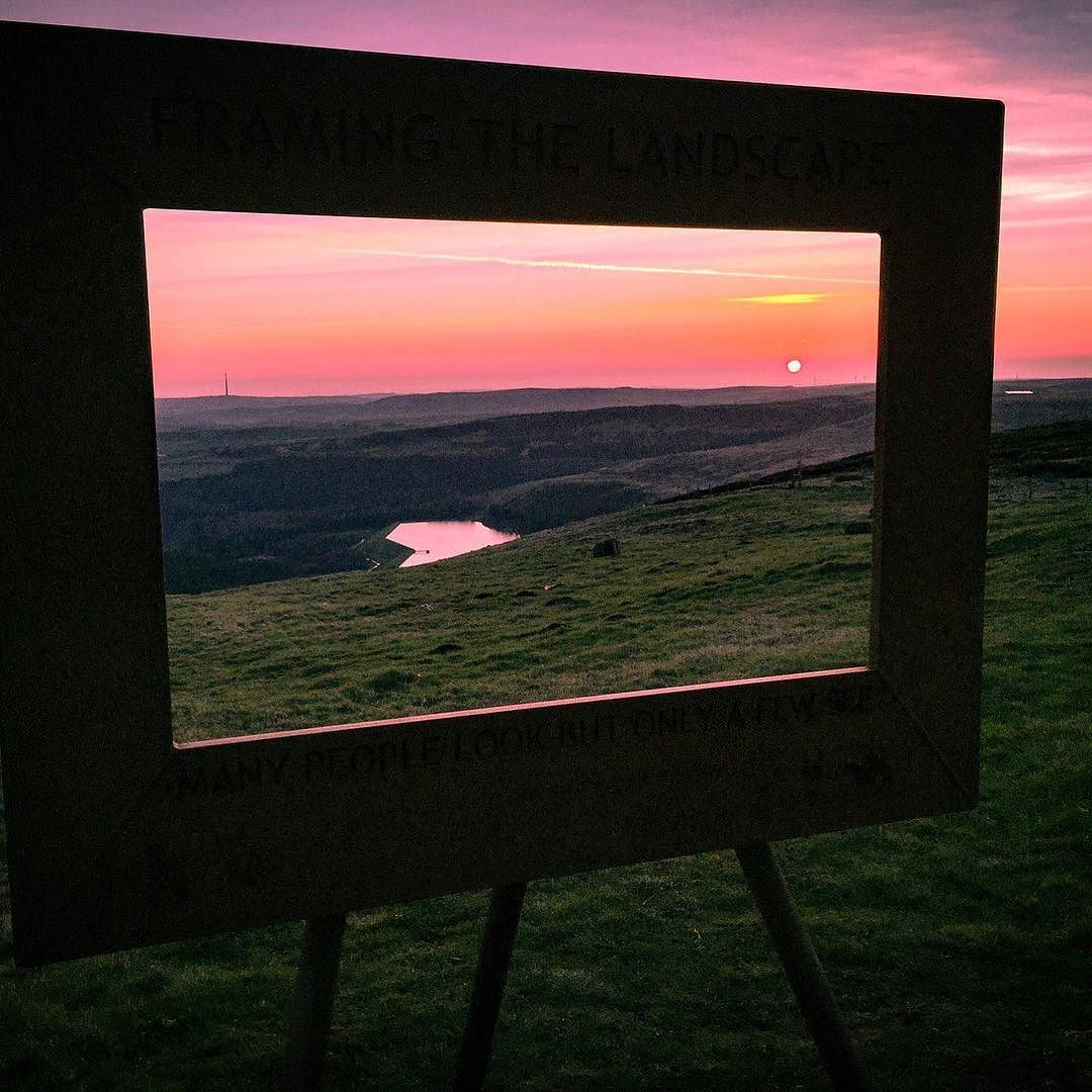 This image taken at Holme Moss West Yorkshire used the \'Framing the ...