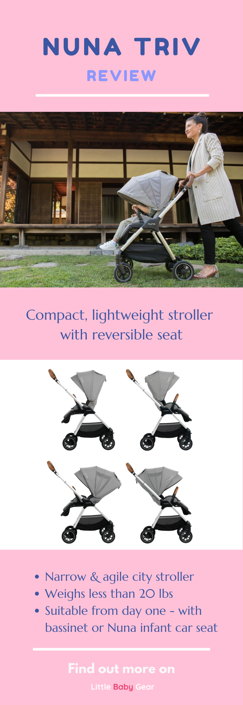 37++ Nuna triv stroller review info