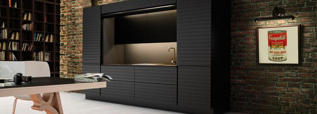 Ecocompatta di Veneta Cucine | Small living | Pinterest | Small living