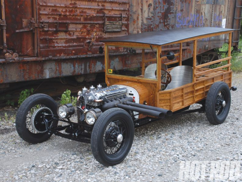 1922 Ford Model T Rat Woodie