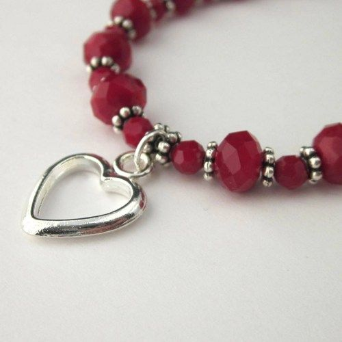 chocol bracelet gift valentines for a image with her the perfect stock shiny heart download