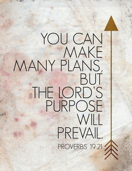 Proverbs 1921 I Love This We Make Plans And God Laughs Its The