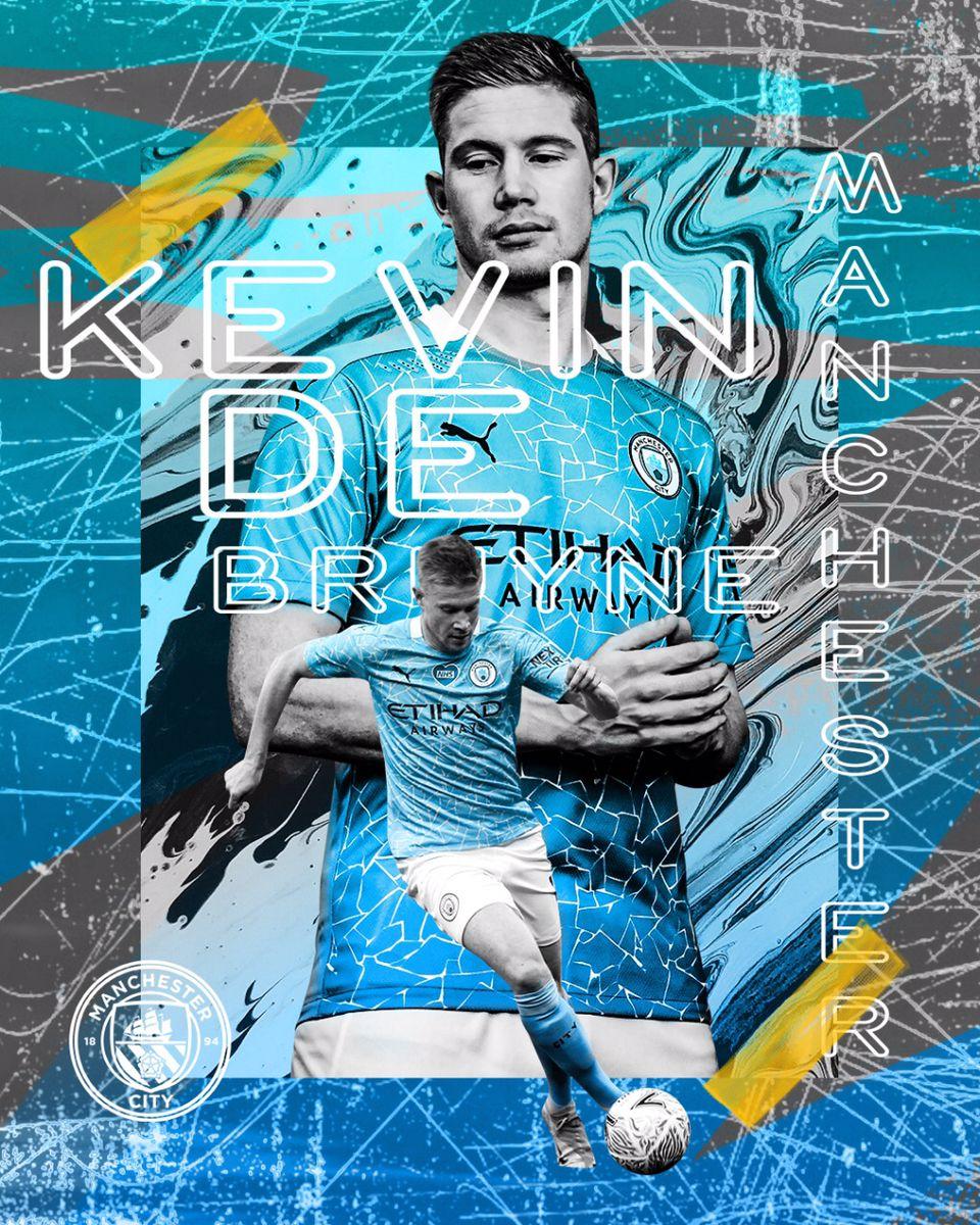 Kevin De Bruyne 2020 Manchester city Poster Design | City posters design,  Manchester city, Poster design