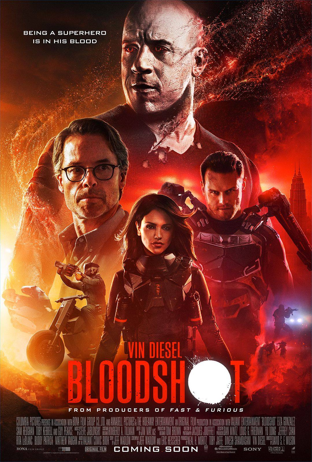 Check Out The New International Poster For Bloodshot And Get