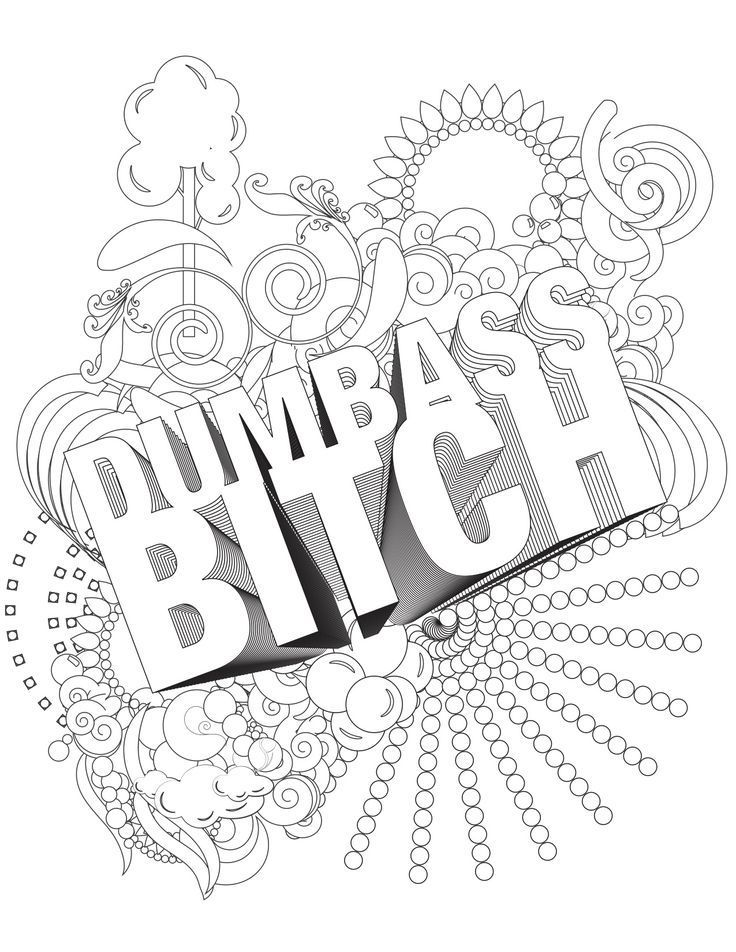 Pin by Swear Word Coloring Pages & Swear Word Coloring