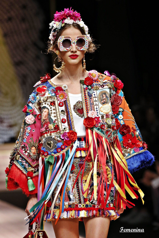 4e6d872f27ff Dolce & Gabbana Spring/Summer 2019 -Details | Костюмы in 2019 ...