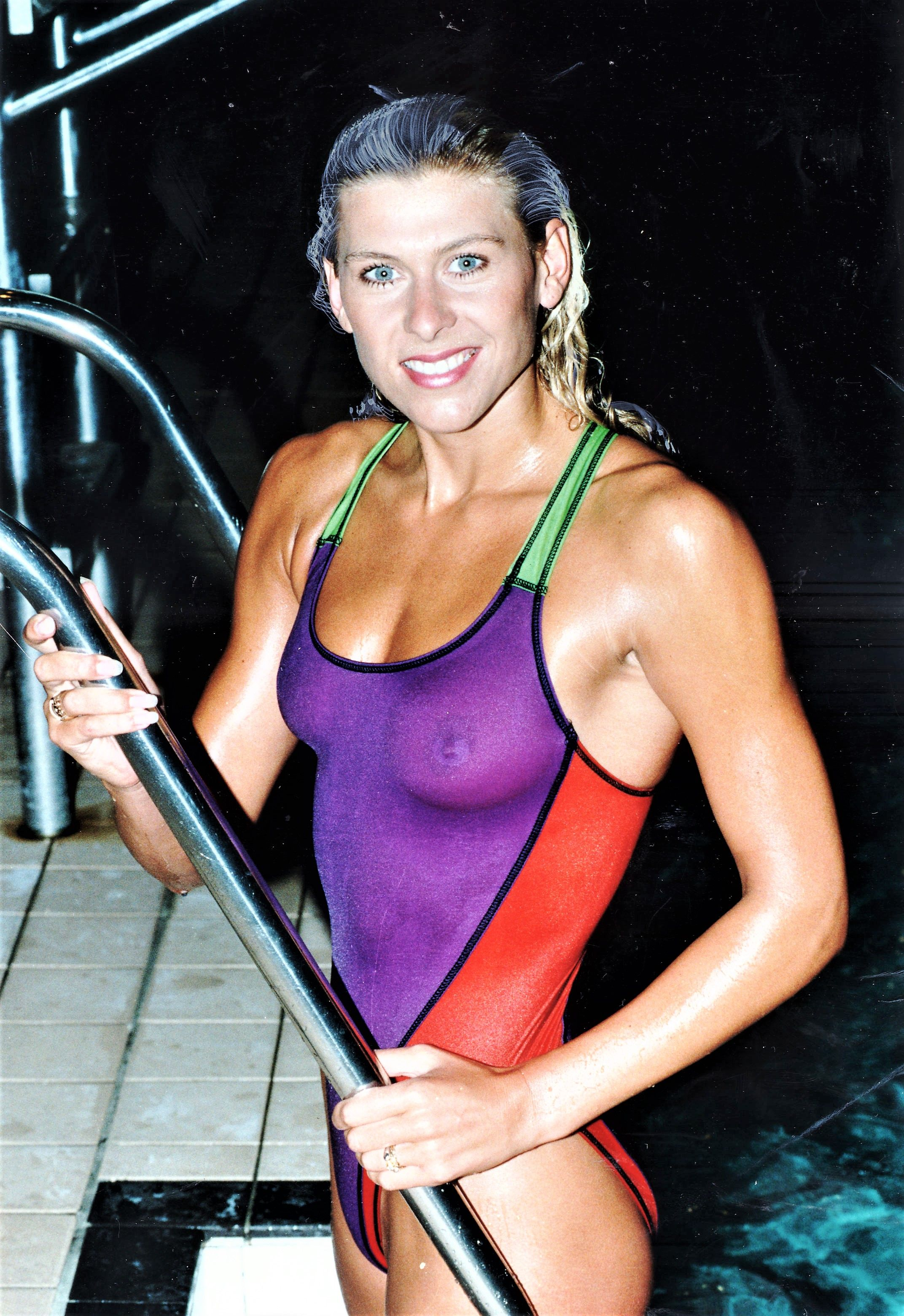 sharron davis see through to nipples sharron davies