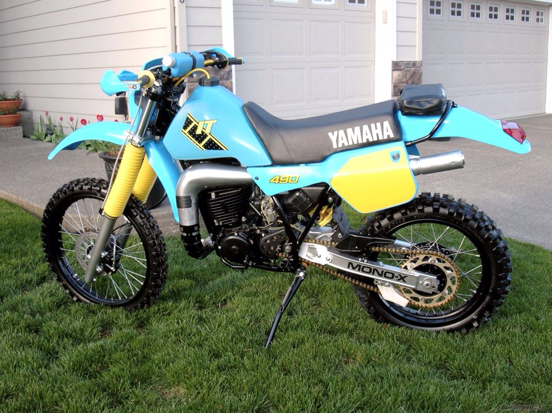 yamaha it490 dirt bikes 3 4wheelers now and then. Black Bedroom Furniture Sets. Home Design Ideas