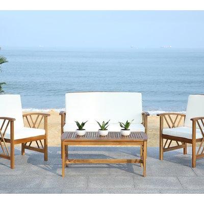 Lark Manor Medora 4 Piece Sofa Seating Group With Cushions