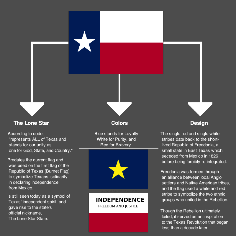 Explanation Of The Texas Flag Texas History Pinterest Texas