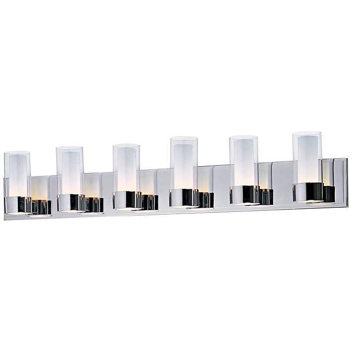 Maxim Silo Polished Chrome 6-Light Bathroom Light Fixture | Products ...