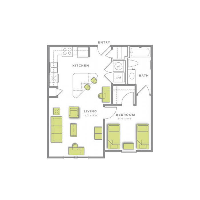 Floor Plans, Student House
